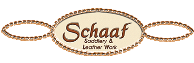 Schaaf Saddlery & Leather Work, Logo